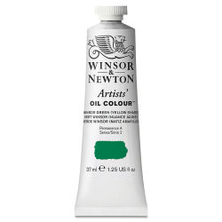 Winsor & Newton Artists' Oil Color - Winsor Green (Yellow Shade), 37 ml tube