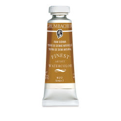 Grumbacher Finest Artists' Watercolor - Raw Sienna, 14 ml tube
