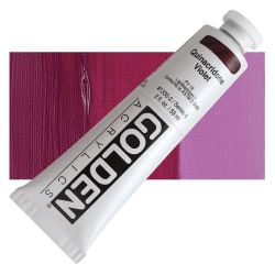 Golden Heavy Body Artist Acrylics - Quinacridone Violet, 2 oz Tube