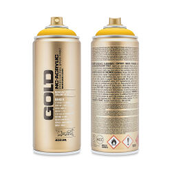 Montana Gold Acrylic Professional Spray Paint - Shock Yellow, 400 ml can