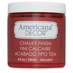 Americana Decor Chalky Finish Paint - Romance, 8 oz jar