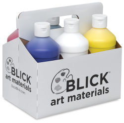 Blickrylic Student Acrylics - Mixing Color Set, Pack of 6 Colors, Pints
