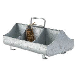 Hampton Art Galvanized Metal Organizer
