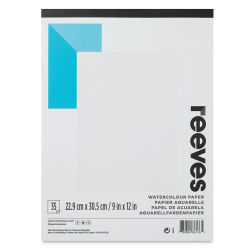 Reeves Watercolor Pad - 9'' x 12'', 35 Sheets