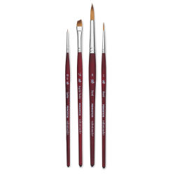 Princeton Velvetouch Series 3950 Synthetic Brushes - *Blick Exclusive* Set of 4