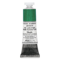 Michael Harding Artists Oil Color - Phthalo Green Yellow Shade, 40 ml tube