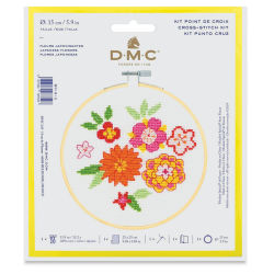 DMC Stitch Kit - Japanese Flowers (In packaging)