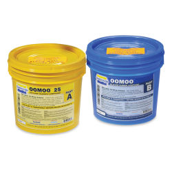 Smooth-On Oomoo Silicone Rubber 25, Gallon