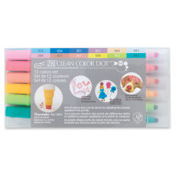 Zig Clean Color Dot Markers and Sets - Set of 12