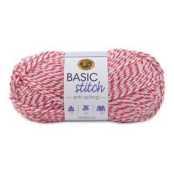 Lion Brand Basic Stitch Anti-Pilling Yarn - Strawberry Twist, 185 yds