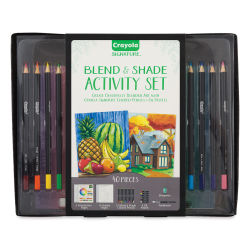 Crayola Signature Blend & Shade Activity Set