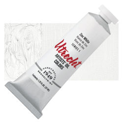 Utrecht Artists' Oil Paint - Zinc White, 37 ml tube