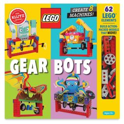 Klutz Lego Gear Bots Kit, Box
