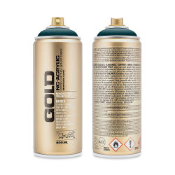 Montana Gold Acrylic Professional Spray Paint - Petrol, 400 ml can