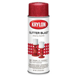 Krylon Glitter Blast Spray Paint - Cherry Bomb, 5.75 oz can