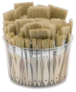 White Bristle Gesso Brush Assortment