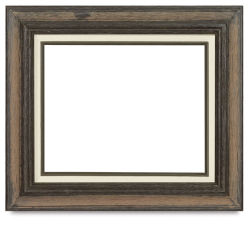 Blick Country Classic Wood Frame - 8'' x 10'' x 3/8'', Weathered Husk