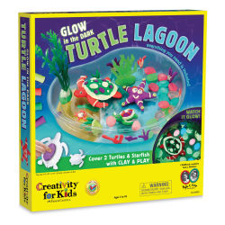 Faber-Castell Creativity for Kids Glow in the Dark Turtle Lagoon Set