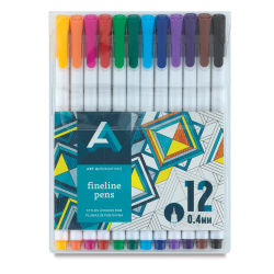 Art Alternatives Fineline Pen Set - Set of 12