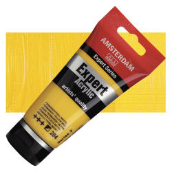 Amsterdam Expert Series Acrylics - Permanent Yellow Medium, 75 ml tube