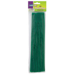 Creativity Street Craft Stems - 4 mm x 12'', Pkg of 100, Kelly Green