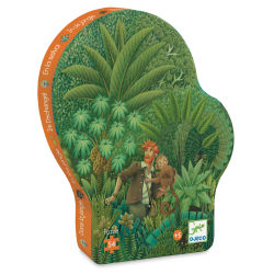 Djeco Silhouette Puzzle- Jungle box