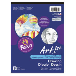 ART1st Drawing Pad - 9'' x 12'', 24 Sheets