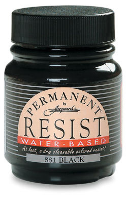 Jacquard Waterbased Resist - Black, 2,25 oz jar