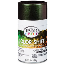 Testors Craft Color Shift Spray Paint - Green Copper, 3 oz