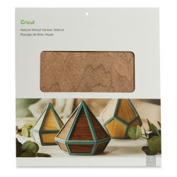 "Cricut Wood Veneer - Walnut, Pkg of 2, 12"" x 12"""