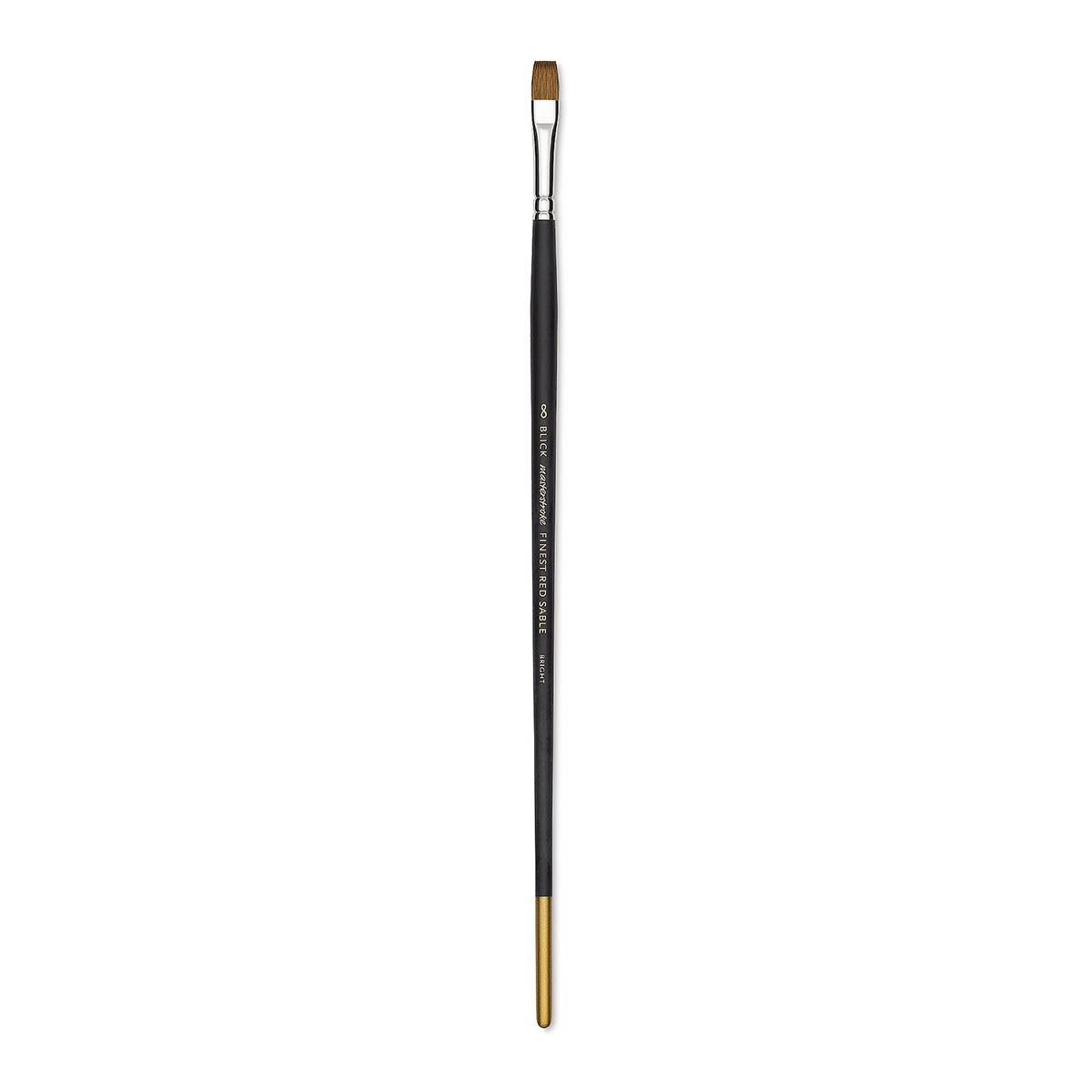 Blick Masterstroke Finest Red Sable Brush - Bright, Size 8, Long Handle
