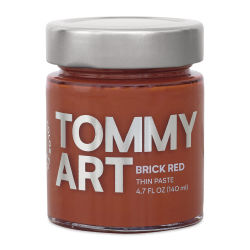 Tommy Art DIY System - Brick Red Paste, 140 ml