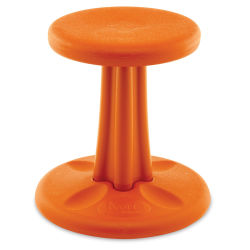 Kore Kids Wobble Stool - Orange, 14'' Tall