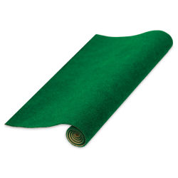 "Schulcz Scale Model Grass Mat - Dark Green, 11-3/4"" x 15-3/4"" (unrolled to show top of the mat)"