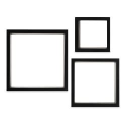 Nielsen Bainbridge Gallery Solutions Decorative Cubes - Set of 3, Black