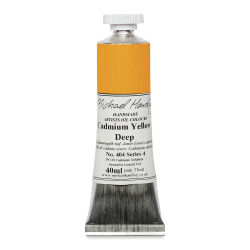 Michael Harding Artists Oil Color - Cadmium Yellow Deep, 40 ml tube