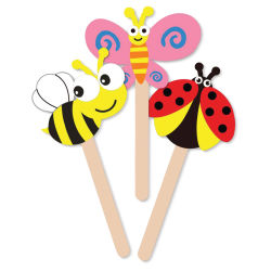 Krafty Kids DIY Foam Fun Stick Puppets - Flying Insects