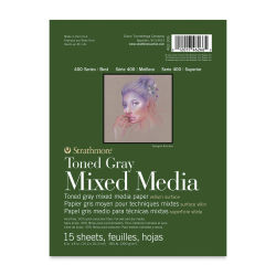 Strathmore 400 Series Toned Mixed Media Pad - Gray, 6'' x 8''