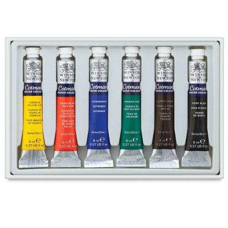 Winsor & Newton Cotman Tube Set - Set of 6 Colors
