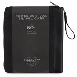 Global Canvas Coloring Case - Black, Large