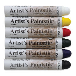 Richeson Shiva Paintstik Oils - Basic Set of 6