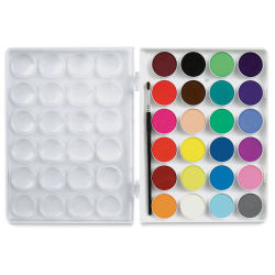 Sargent Art Watercolor Cakes - Set of 24