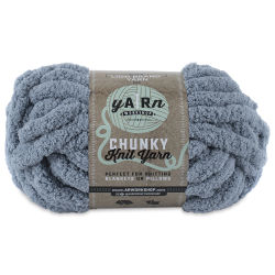 Lion Brand AR Workshop Chunky Knit Yarn - Fog, 28 yds