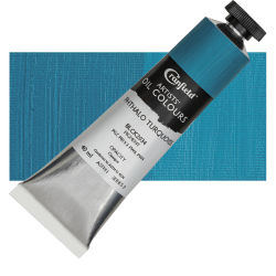 Cranfield Artists' Oils - Phthalo Turquoise, 40 ml, Tube