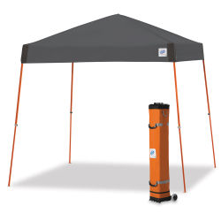 E-Z Up Vista Shelter - 12 ft x 12 ft, Steel Gray