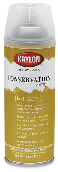 Conservation Varnish, Gloss