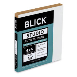 Blick Project Panel Class Pack - 4'' x 4'' x 3/8'', Pkg of 12