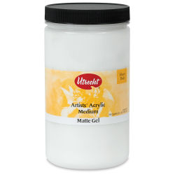 Utrecht Acrylic Medium - Gel Matte Medium, Quart