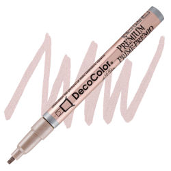 DecoColor Premium Paint Marker - Rose Gold, Leafing Tip, 2 mm