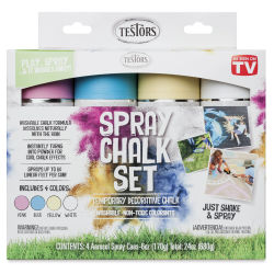 Testors Spray Chalk - Set of 4